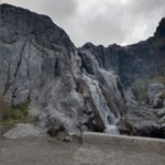 Laguna negra, cascada
